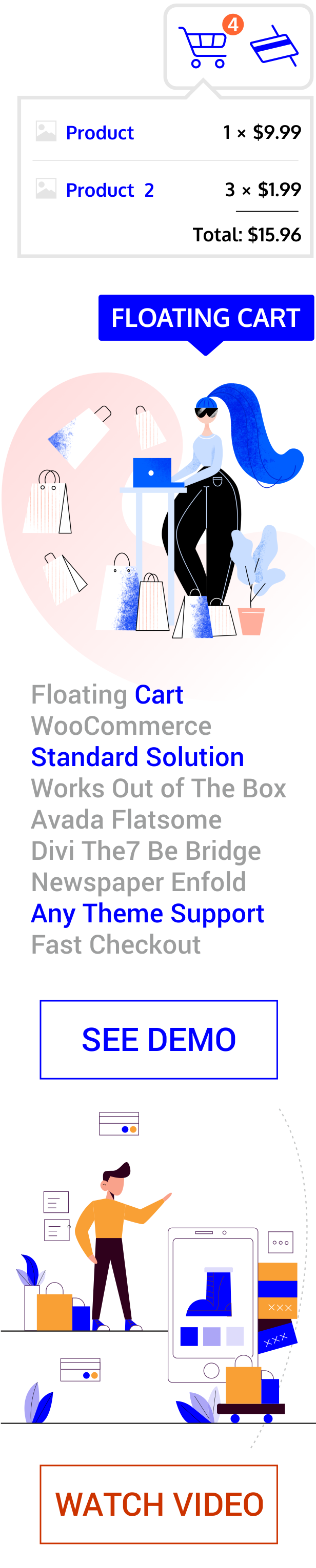 Floating Cart for WooCommerce - 2