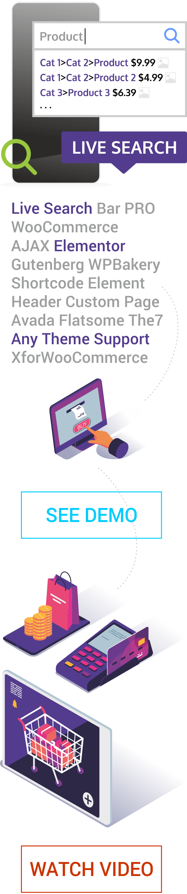 Live Search for WooCommerce - 2
